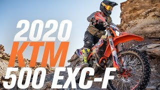 6. 2020 KTM 500 EXC-F FMF Racing/RMATVMC Collab Bike Build
