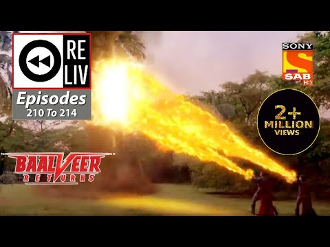 Weekly ReLIV - Baalveer Returns - 12th October 2020 To 16th October 2020 - Episodes 210 To 214