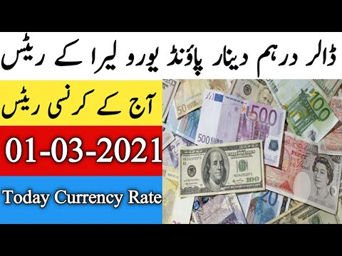 Currency Rate Today in Pakistan | Currency Rates Today | Dollar Rate in Pakistan Today | 01 March