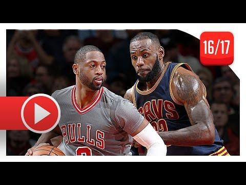 Dwyane Wade vs LeBron James SICK Duel Highlights (2016.12.02) Bulls vs Cavaliers - BROTHERHOOD!