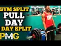 3 Day Gym Split: Pull Day workout | Back & Biceps