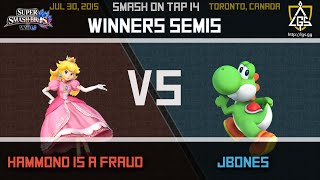 Smash on Tap every Thursdays at 6PM with WiiU singles and other side events like PM, Brawl, Character Auctions, Arcadians and Crew Battles. -- Watch live at ...