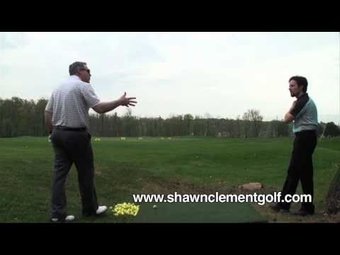 Lesson 8 with Peter Working Ball; #1 Most Popular Golf Teacher on You Tube Shawn Clement