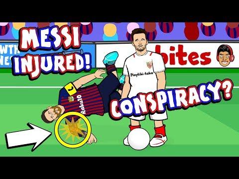 ??MESSI INJURED - A CONSPIRACY?!??_Sport videók