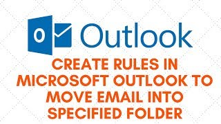 Create Rules in Microsoft Outlook to Move Email Into Specified FolderIf you want to organize your Microsoft Outlook inbox then this video is for you. I will show you how to manage email messages by using rules. This works in Microsoft Outlook 2007, Microsoft Outlook 2010, Microsoft Outlook 2013, Microsoft Outlook 2016 and Office 365. So if your inbox is full of email and is really hard to find what you're looking for then organizing it to Specified Folder is the way to go. you can set it up how you like incoming and outgoing folders and set rule for all email accounts.Need help? join my forumhttp://www.briteccomputers.co.uk/forum