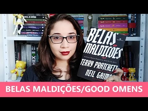 GOOD OMENS: BELAS MALDIÇÕES - Neil Gaiman, Terry Pratchett ?? | Biblioteca da Rô