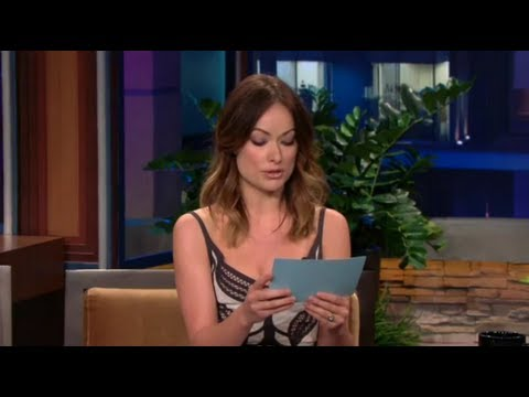 tweets - Olivia Wilde Reads Justin Bieber Hate Tweets on Jay Leno! Responds to feud over shirtless pics!! http://youtu.be/IAE-yThHKdw - Full Interview with Jay Leno h...