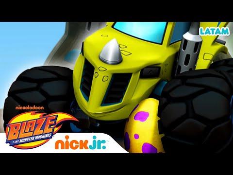 Blaze y Zeg rescatan un huevo 🥚 | Blaze and the Monster Machines
