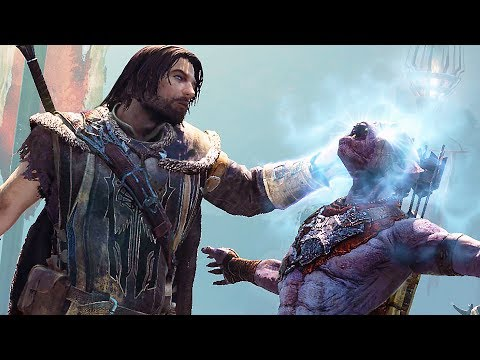 MIDDLE EARTH: Shadow Of War 4K Gameplay 10 Minutes Demo - E3 2017