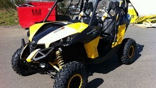 8. Walkaround of the 2013 Can Am Maverick 1000R Xrs