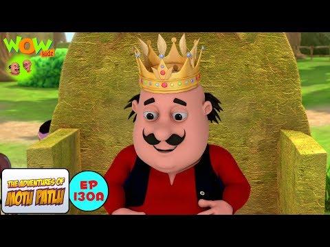 Video Motu The King Of Tribe - Motu Patlu in Hindi - 3D Animation Cartoon for Kids download in MP3, 3GP, MP4, WEBM, AVI, FLV February 2017