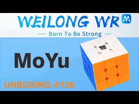 Unboxing №126 Moyu Weilong Wr M