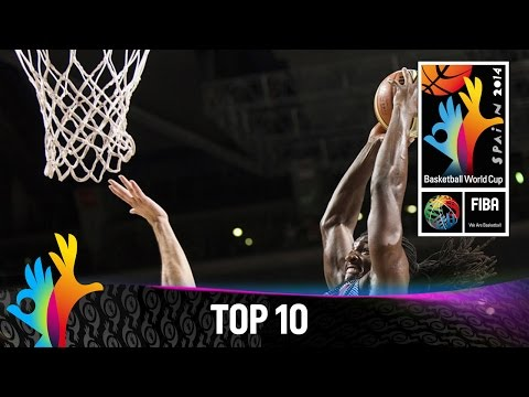 plays - Check out the Top 10 Plays from the 2014 FIBA Basketball World Cup featuring Roman MARTINEZ (Mexico), France team, Kenneth FARIED (USA) twice, Rudy GOBERT (France), Rudy FERNANDEZ (Spain),...