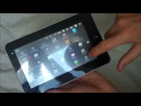 Tablet PC Review 7 Inch Touch Screen Google Android 2.2 Slate