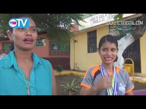Reciben a Atleta que ganó medallas de oro y plata en San Salvado