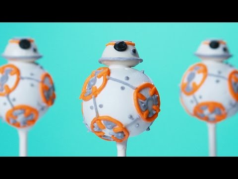 How to Make Adorable BB8 Cake Pops