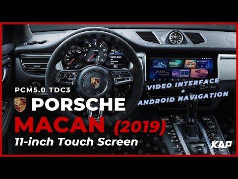 Porsche Macan 2019 Android Navigation
