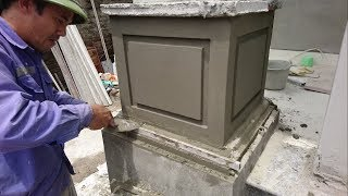 Video Amazing Construction Rendering House Column - Building House Step By Step MP3, 3GP, MP4, WEBM, AVI, FLV Juli 2018