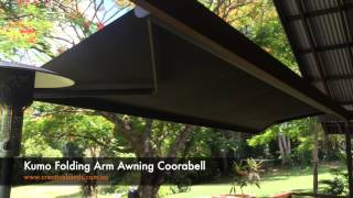Kumo Folding Arm Awning Coorabell