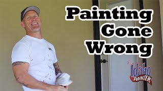 Making videos is not all that easy.  See here some mistakes I make along the way.Home improvement tips, tools, projects, hacks and more!  Oh, and how to paint a house for the DIY or professional painter.  You home repair headquarters.You can help support my channel by buying your tools and products in my Tool Store  http://theidahopainter.com/tool-store/My Paint Life paint wear is available in my shirt store: http://www.cafepress.com/idahopainterVisit me on Facebook for a chance to win a t-shirt.   https://www.facebook.com/theidahopainterThe Idaho Painter is brought to you by B&K Painting.  Visit us at http://www.idahopainter.comDisclaimer:Due to factors beyond the control of The Idaho Painter (or Chris Berry), I cannot guarantee against improper use or unauthorized modifications of this information. The Idaho Painter assumes no liability for property damage or injury incurred as a result of any of the information contained in this video. Use this information at your own risk. The Idaho Painter recommends safe practices when working on any structure and or with tools seen or implied in this video. Due to factors beyond the control of The Idaho Painter, no information contained in this video shall create any expressed or implied warranty or guarantee of any particular result. Any injury, damage, or loss that may result from use or improper use of these tools, equipment, or from the information contained in this video is the sole responsibility of the user and not The Idaho Painter.