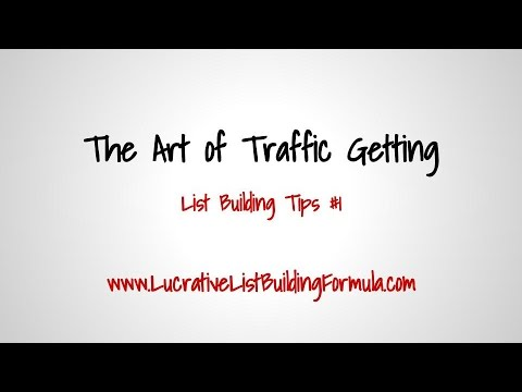 List Building Tips: How to Get More Traffic and Explode Your Opt-ins