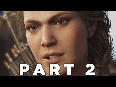 ASSASSINS CREED ODYSSEY LEGACY OF THE FIRST BLADE Walkthrough Gameplay Part 2 - HUNTED (AC Odyssey)