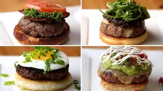 4 Burgers Around the World by Tasty