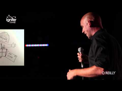 Why I Love The Valleys (Ignite Cardiff 19 – Episode 8 – Mike Jordan) - Censored