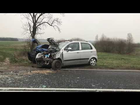 Wideo1: Wypadek w Studziannej