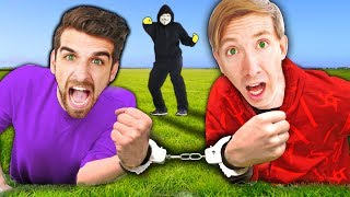 Video HANDCUFFED BY HACKER FOR 24 HOURS CHALLENGE (Chasing Project Zorgo for Clues) MP3, 3GP, MP4, WEBM, AVI, FLV April 2019