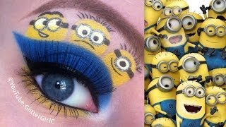Minions Makeup Tutorial - YouTube