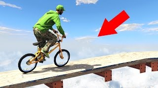 EXTREME ROOFTOP BMX PARKOUR! (GTA 5 Funny Moments)