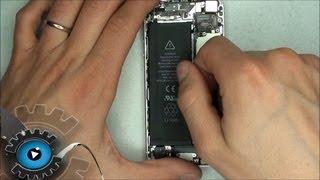 IPhone 5 Akku Wechseln Tauschen Anleitung Tutorial Reparieren[German/ Deutsch][HD][HQ] Battery