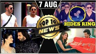 Video Priyanka Hides Engagement Ring, Salman  On Priyanka Leaving Bharat, Sui Dhaaga Logo | Top 10 News MP3, 3GP, MP4, WEBM, AVI, FLV Agustus 2018