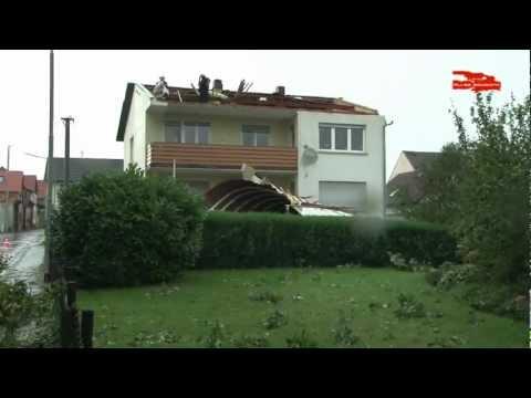 Gewitterfront verwüstet Pohlheim-Holzheim 24.08.2011