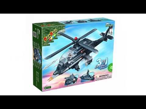 Video Check out the latest YouTube of 3IN1 Helicopter Toy Building Set
