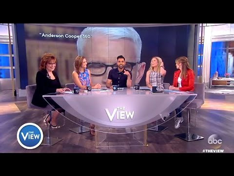 "Was Anderson Coopers ""Eye Roll"" At CONWAY Sexist? (The View)"