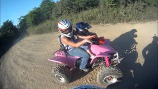 10. 1st outing with vitos crank banshee and pink 300 ex