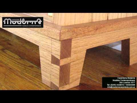 Carpinteria contemporanea videos videos relacionados for Pdf carpinteria muebles
