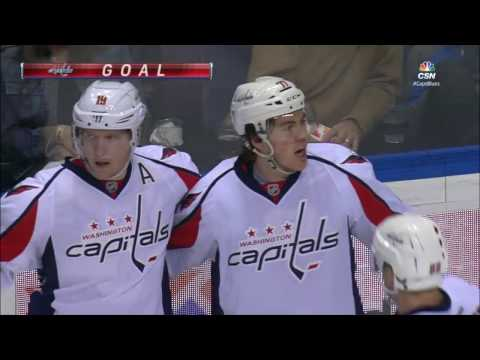 Video: Oshie gets first goal vs former team, has now scored against every NHL team