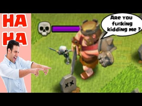 Funny clips - Clash of Clans Funny Moments Trolls Compilation #22  COC Montage
