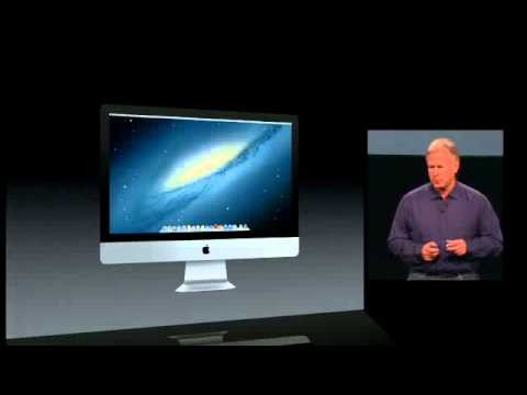 2012 imac - The All New iMac launched at the Apple Special Event October 2012 - Keynote The New iMac Performance and design. Taken right to the edge.