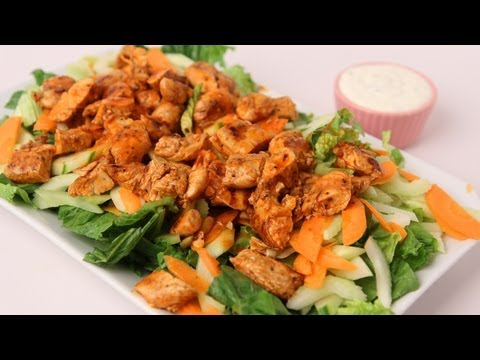 Buffalo Chicken Salad Recipe – Laura Vitale – Laura in the Kitchen Episode 423