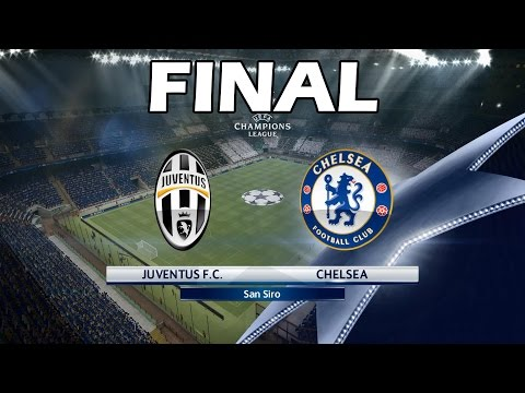 PES 2016 Champions League With Juventus | #13 Final Juventus Vs Chelsea