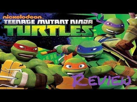 nickelodeon teenage mutant ninja turtles xbox 360 game