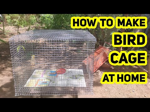 How to make Bird Cage at your home  in Rs.350