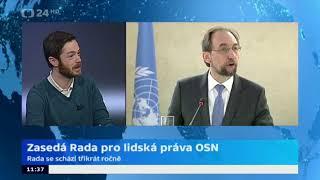 Zasedá Rada pro lidská práva OSN
