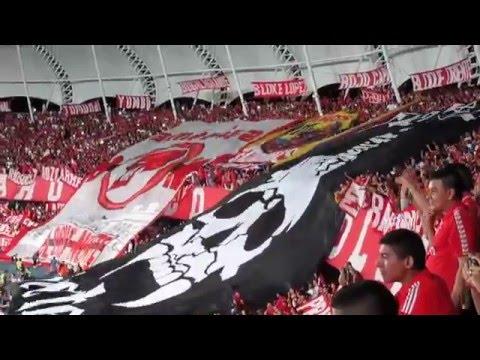 YO SOY DE LA MECHA (vídeo oficial) América 2  vs  quindio  0 - Baron Rojo Sur - América de Cáli - Colombia - América del Sur