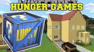 Minecraft: FORTNITE HUNGER GAMES - Lucky Block Mod - Modded Mini-Game