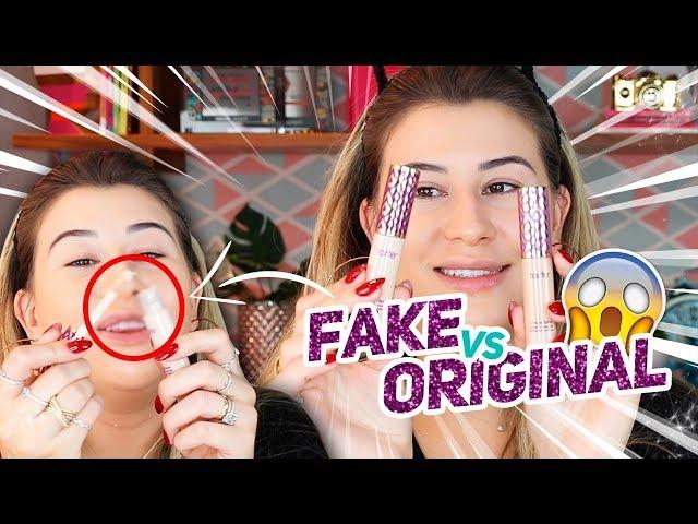 MAKE FALSA x MAKE ORIGINAL - Qual a Diferença? - Niina Secrets